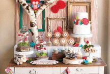 Candy bar, dessert table