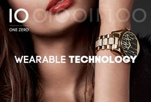 ONE ZERO | WEARABLE TECHNOLOGY / All about wearable technology. Fossil Q, Michael Kors, Diesel, Armani smartwatches and more.