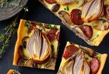 Special Pizzas / by Zebbie Borland .