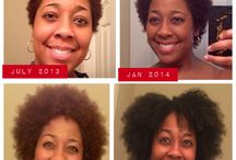 Natural Hair Length Check / I started my natural hair journey on July 15, 2013! This is my journal of progress.