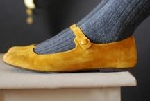 Zamszowe buty i inne