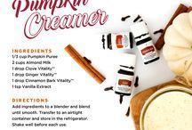 Recipes with essential oils