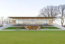 Oundle School Cricket Pavilion
