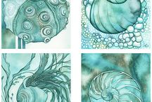 Aquarel art