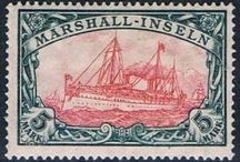 stamps - German colonies