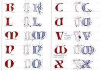 kaligrafia, písmo