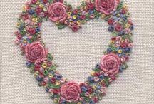 Hímzés: Csomózóöltés-család/embroidery with knot