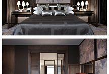 Hotel rooms / Hotel room interiors
