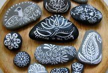 Beach Stone art