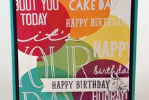 Stampin' Up! ~ Celebrate Today / Inspiration for Stampin' Up!'s Celebrate Today set