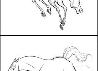 Horses to draw