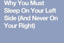 Sleep on Left side