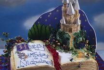 Торт с книгами