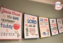 Sunday School Posters