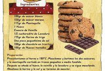 galletas de chocolate americanas.