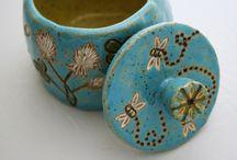 Ceramic Lidded Jars