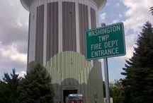 Water towers / Water storage mechanism
