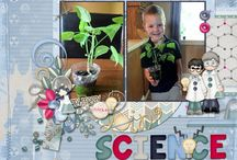 Doin' Science Digital Scrapbooking Collection by Kathryn Estry