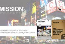 Cool Notebok - MISSION EVENT MANAGEMENT / Notizbuch und Kurzratger für Event Manager ab sofort erhältlich unter: www.missioneventmanagement.com