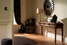 China Style / Beautiful room settings featuring oriental furniture and chinese antiques.