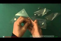 3 Dimensional Triangles (3DT) / 3DT is a simple way to fold many functional models of which all the sides are triangular shapes. / by Stand Innovations