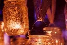 Con tarros de cristal / Glass jar
