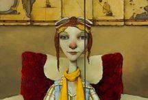 Fred CALLERY - illustrator/painter