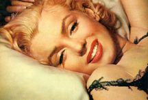 Marilyn. / Admire everything from her confidence to her body. She knows you dont have to be super skinny to be perfect