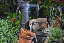 Zahradní fontány
