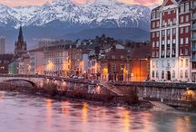 Grenoble (France) / Grenoble in the french alps is my home since 2007.