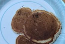Got back from Disneyland and just couldn't wait to make Mickey Mouse pancakes