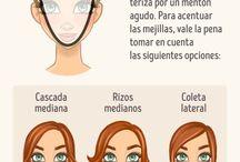 peluquería y barbería / Asesoría de imagen, tipos de cortes, piel y rostros.