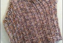 Loom knit weave crochet etc