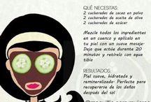 Belleza y trucos / Tips de belleza y remedios naturales para un más fácil alivio