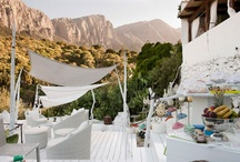 holiday accomdation I adore / inspiration for places to stay on holiday. from greek villas, hotels and chalets