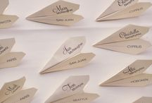 Airplane and travel themed wedding ideas