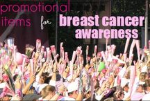 Breast Cancer Awareness Items / Promotional items to make your breast cancer awareness organization, walk, run, or other fundraising event beautiful, memorable, and successful.