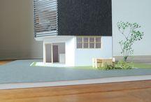 街にとけ込むヘアサロン / 設計・監理:近藤晃弘建築都市設計事務所