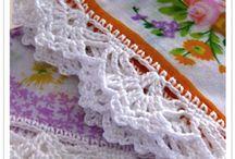 ganchillo puntillas / crochet edgings