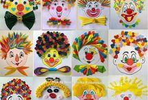 Cirkusz és bohócok