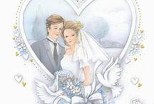 Karten Hochzeit Herzen