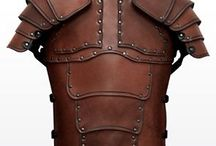 leather armor, mask, etc