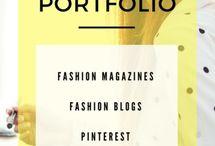 Fashion stylist portfolio