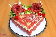 slané dorty a slané pečení