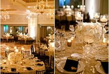 Maritza + Michael | Inspiration / This couple wants to showcase their love for each other + the city of Pittsburgh.  Their venue provides a jaw-dropping view of the Three Rivers + their wedding palette will offer an elegant twist of the city's signature colors of black + gold.