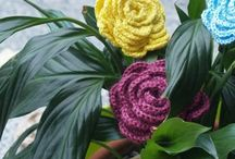 Crochet Flowers / Colourful crochet flowers, patterns or inspiration they will be all here!