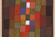 Squares & other shapes / Non-figurativt måleri