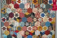 A Tribute to Quilter Jill Reid / just a handful of the 100's she made