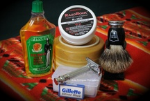 Traditional wet shaving / Traditional wet shaving razors, soaps, cream, aftershave and more.  / by Gene Rodriguez