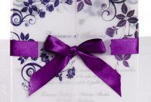 Mariage thème Féerique purple